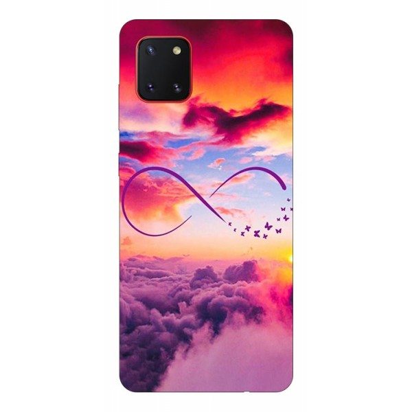 Husa Silicon Soft Upzz Print Samsung Galaxy Note 10 Lite Model Infinity imagine itelmobile.ro 2021