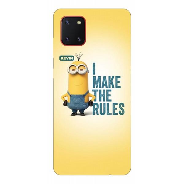 Husa Silicon Soft Upzz Print Samsung Galaxy Note 10 Lite Model Kevin imagine itelmobile.ro 2021