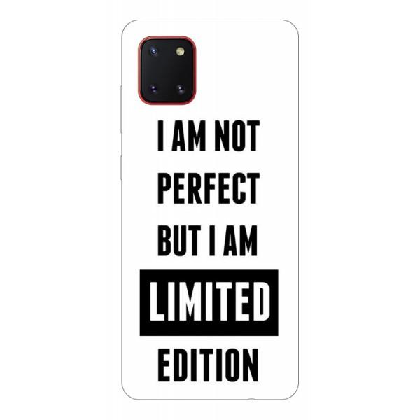 Husa Silicon Soft Upzz Print Samsung Galaxy Note 10 Lite Model Limited Edition imagine itelmobile.ro 2021