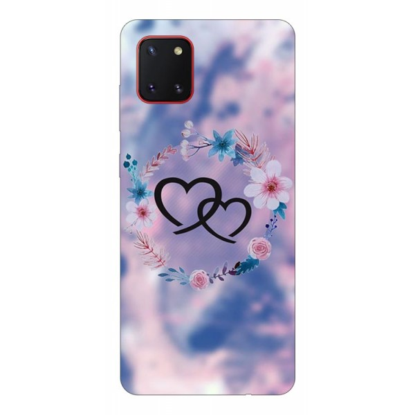 Husa Silicon Soft Upzz Print Samsung Galaxy Note 10 Lite Model Love imagine itelmobile.ro 2021