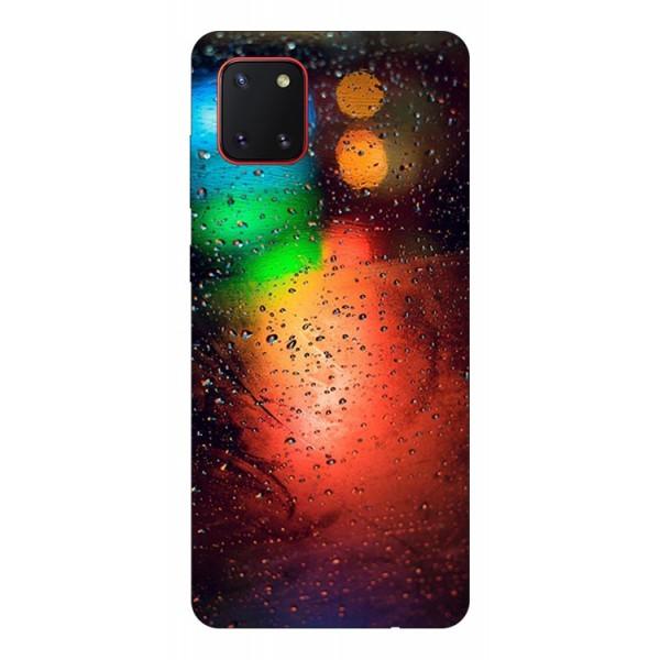 Husa Silicon Soft Upzz Print Samsung Galaxy Note 10 Lite Model Multicolor imagine itelmobile.ro 2021