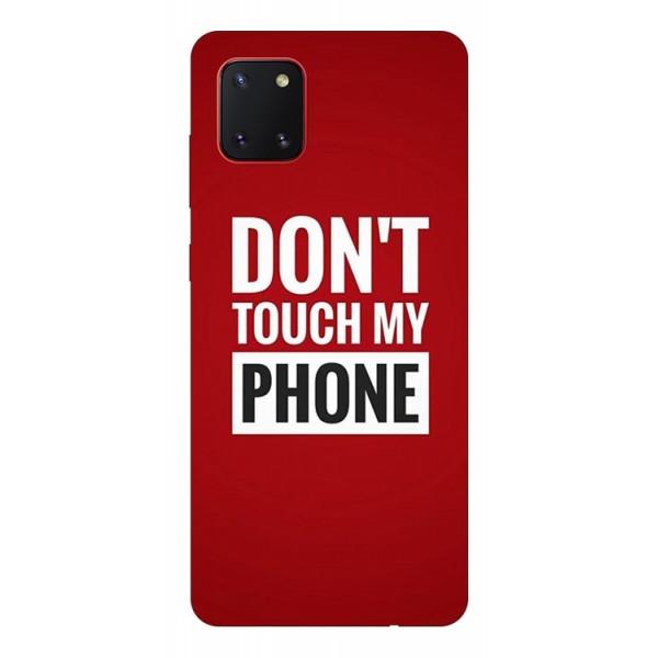 Husa Silicon Soft Upzz Print Samsung Galaxy Note 10 Lite Model My Phone imagine itelmobile.ro 2021