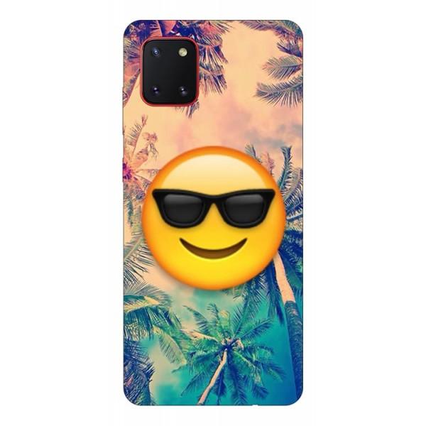 Husa Silicon Soft Upzz Print Samsung Galaxy Note 10 Lite Model Smile imagine itelmobile.ro 2021