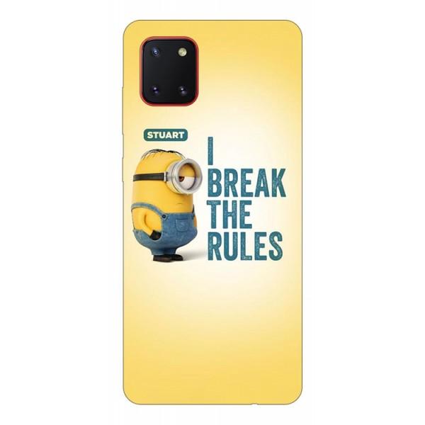 Husa Silicon Soft Upzz Print Samsung Galaxy Note 10 Lite Model Stuart imagine itelmobile.ro 2021