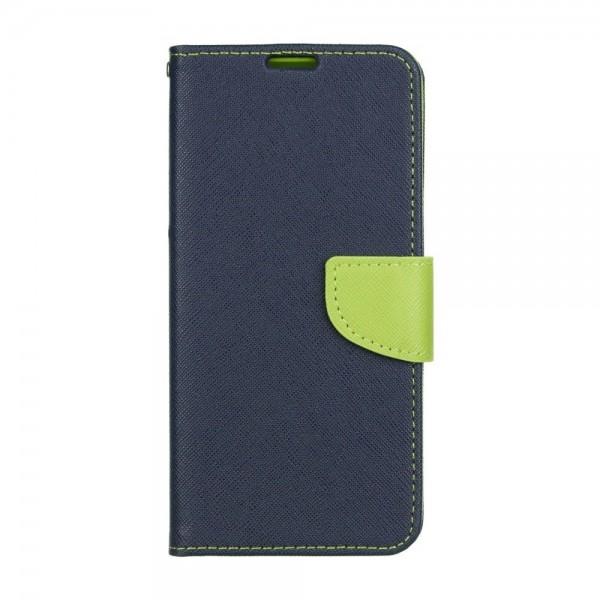 Husa Flip Carte Fancy Book Samsung Galaxy A11 , Albastru Verde imagine itelmobile.ro 2021