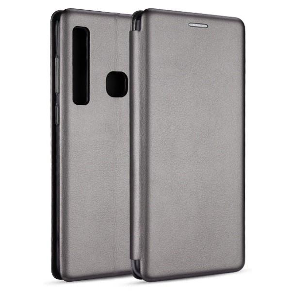 Husa Flip Carte Cu Magnet Lux Upzz Samsung Galaxy A21,silver imagine itelmobile.ro 2021