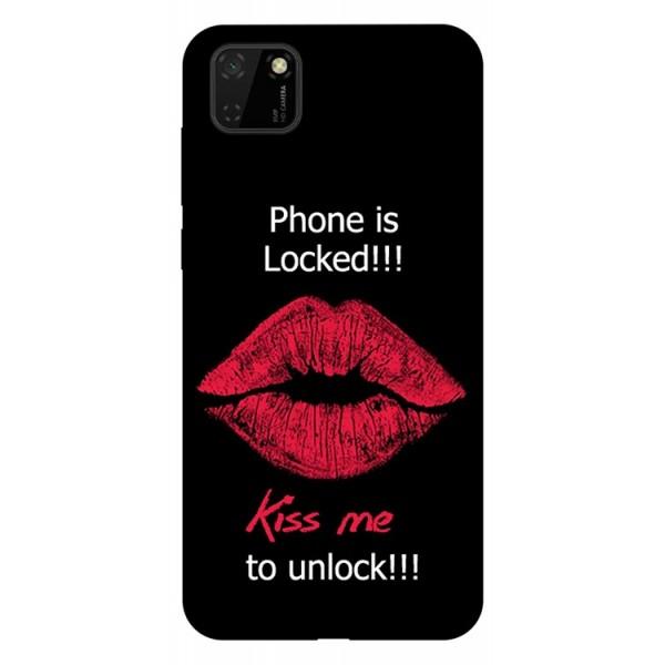 Husa Silicon Soft Upzz Print Huawei Y5p Model Kiss imagine itelmobile.ro 2021