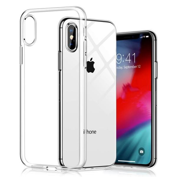 Husa Spate Silicon Ultra Slim Upzz iPhone Xs Max , Silicon , Transparenta imagine itelmobile.ro 2021