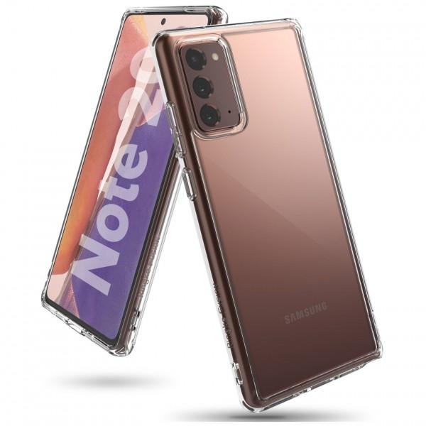 Husa Premium Ringke Fusion Crystal Samsung Galaxy Note 20, Transparenta imagine itelmobile.ro 2021