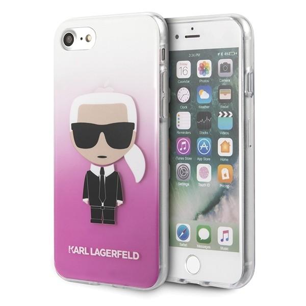 Husa Spate Premium Karl Lagerfeld iPhone Se 2 ( 2020 ), Gradient Ikonik Karl -klhci8trdfkpi imagine itelmobile.ro 2021