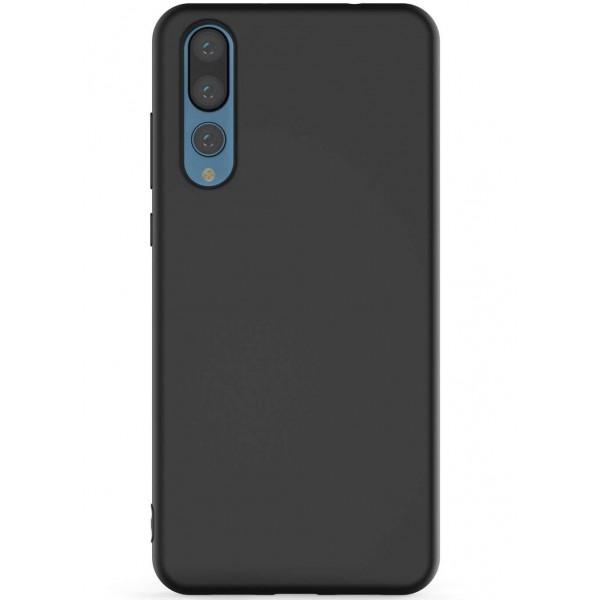 Husa Ultra Slim Upzz Candy Pentru Huawei P20 Pro ,1mm Grosime , Negru imagine itelmobile.ro 2021