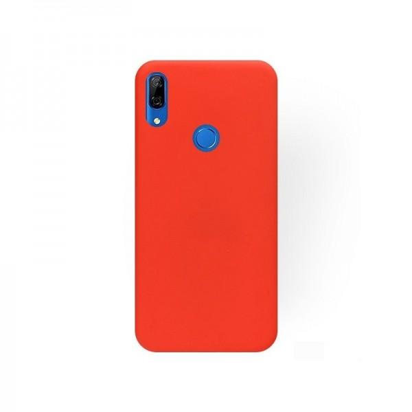 Husa Ultra Slim Upzz Candy Pentru Huawei P Smart Z ,1mm Grosime , Rosu imagine itelmobile.ro 2021