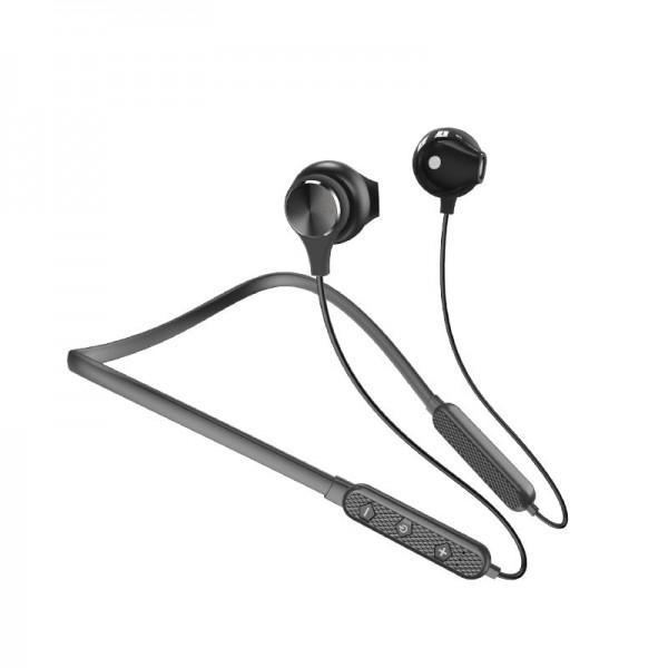 Casti Audio Wireless Sports Neckband Dudao U5 Plus, Negru imagine itelmobile.ro 2021