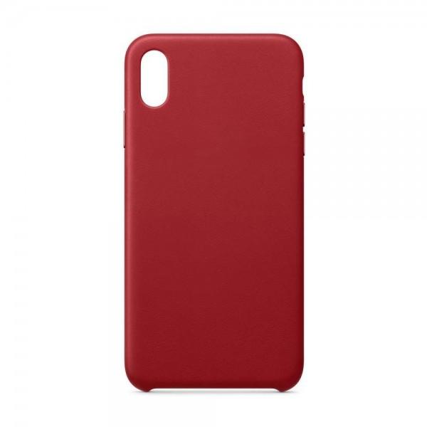 Husa Upzz Piele Ecologica Pentru iPhone 7/8 - Rosu imagine itelmobile.ro 2021