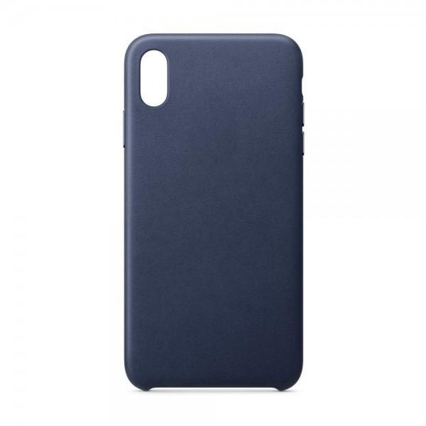 Husa Upzz Piele Ecologica Pentru iPhone 7/8 - Blue Navy imagine itelmobile.ro 2021