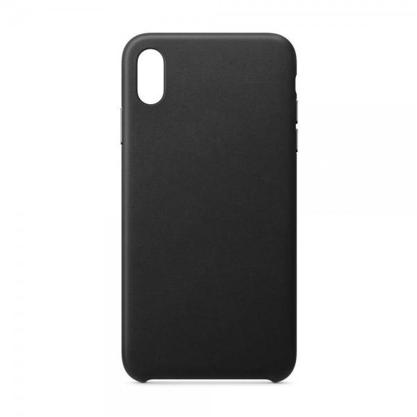 Husa Upzz Piele Ecologica Pentru iPhone 7/8 - Negru imagine itelmobile.ro 2021
