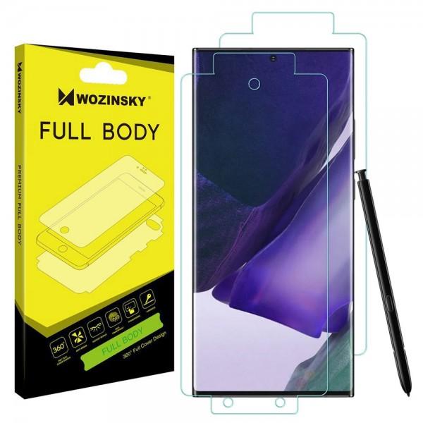 Folie Fata Spate Si Laterale Wozinsky Full Cover Regenerabila Samsung Galaxy Note 20 Ultra Transparenta ,silicon imagine itelmobile.ro 2021
