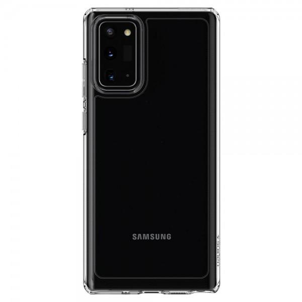 Husa Premium Spigen Ultra Hybrid Samsung Galaxy Note 20, Transparenta,crystal Clear imagine itelmobile.ro 2021
