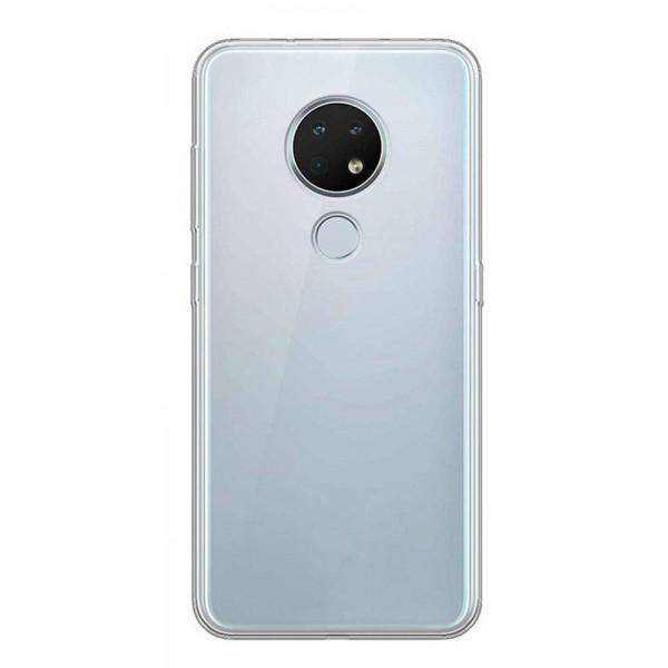 Husa Spate Silicon Ultra Slim Upzz Nokia 7.2 Transparenta imagine itelmobile.ro 2021