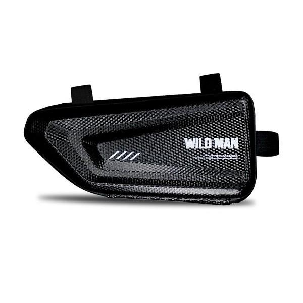 Geanta Bicicleta Impermeabila Pentru Cadru Marime L - Wildman E4 Negru imagine itelmobile.ro 2021