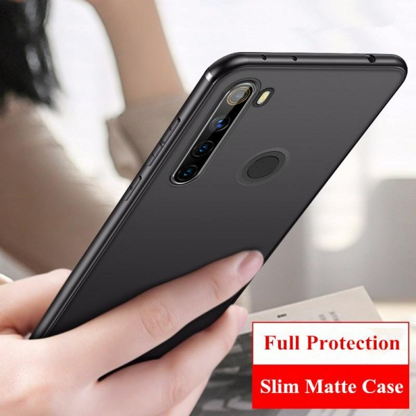Husa Spate Upzz Ultra Slim Pro Xiaomi Note 8t , Negru Super Slim imagine itelmobile.ro 2021