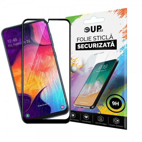 Folie Sticla 9h Full Cover Full Glue Upzz Samsung Galaxy M21 Cu Adeziv Pe Toata Suprafata Foliei Neagra imagine itelmobile.ro 2021