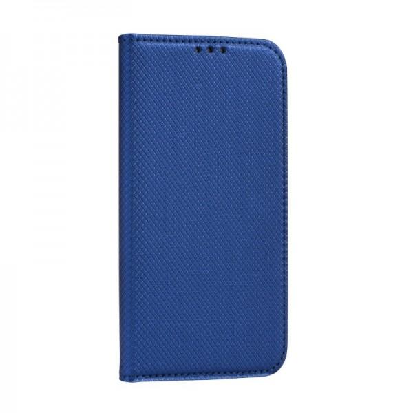 Husa Flip Cover Upzz Smart Case Pentru Huawei P40 Lite E Albastru imagine itelmobile.ro 2021