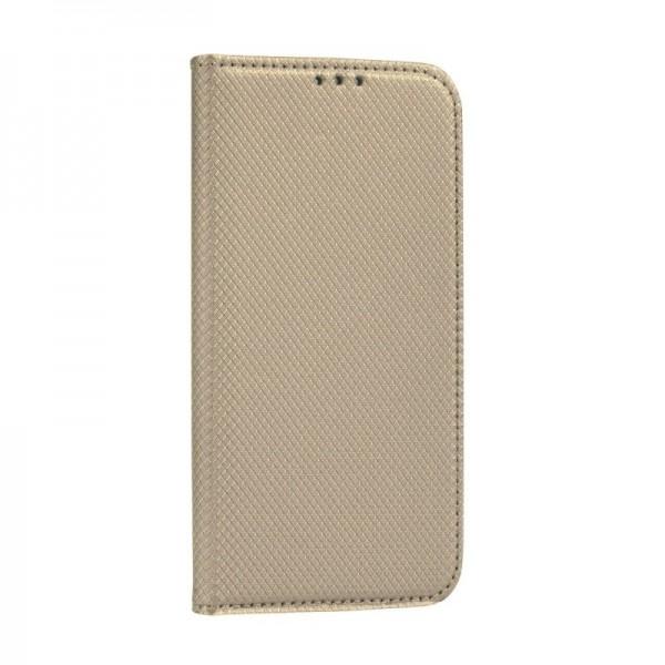 Husa Flip Cover Upzz Smart Case Pentru Huawei P40 Lite Gold imagine itelmobile.ro 2021
