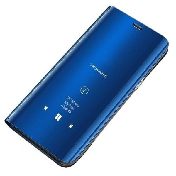Husa Tip Carte S View Mirror Xiaomi Mi 9t / Mi 9t Pro Blue imagine itelmobile.ro 2021