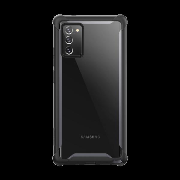 Husa Premium Originala 360 Grade Iblason Ares Samsung Galaxy Note 20 Negru imagine itelmobile.ro 2021