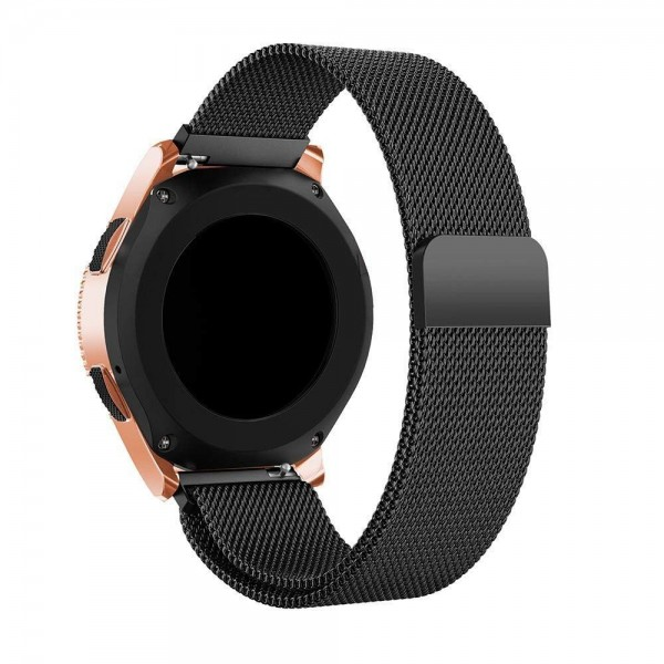 Curea Ceas Upzz Tech Compatibila Cu Samsung Galaxy Watch 3, 45mm , Milaneseband-negru imagine itelmobile.ro 2021