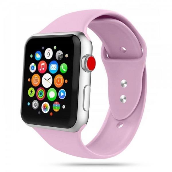 Curea Smooth Band Upzz Tech Protect ,compatibila Cu Apple Watch 1/2/3/4/5 (42/44mm), Mov imagine itelmobile.ro 2021