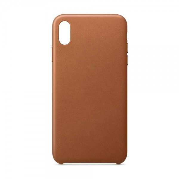 Husa Spate Leather Upzz iPhone 11 Pro, Brown imagine itelmobile.ro 2021