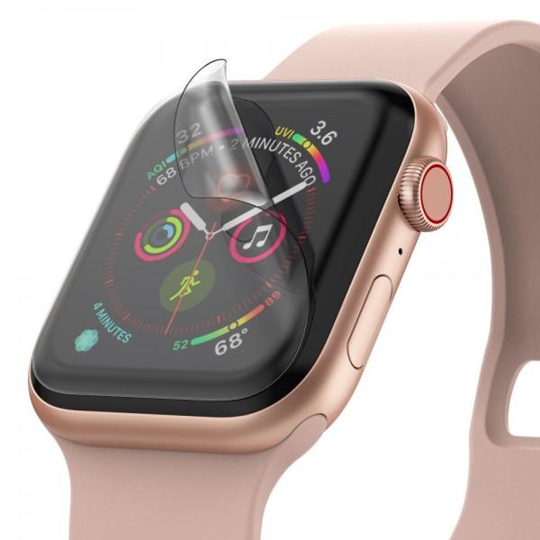 Folie Silicon Ultra Rezistenta Ringke Easy Flex Compatibila Cu Apple Watch 4/5 44mm ,transparenta,3 Bucati In Pachet imagine itelmobile.ro 2021