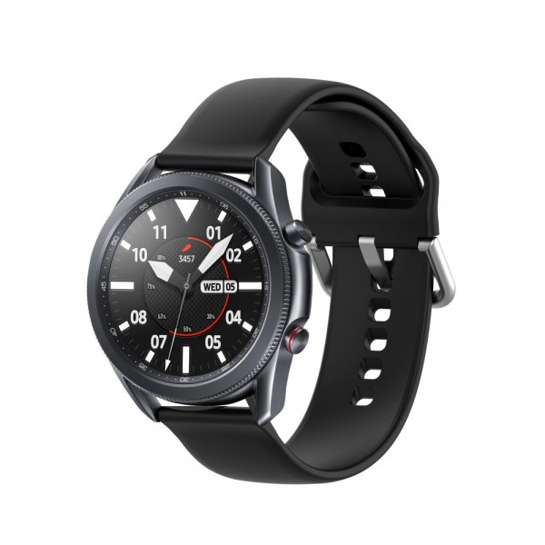 Curea Ceas Upzz Tech Iconband Compatibila Cu Samsung Galaxy Watch 3, 41mm ,negru imagine itelmobile.ro 2021