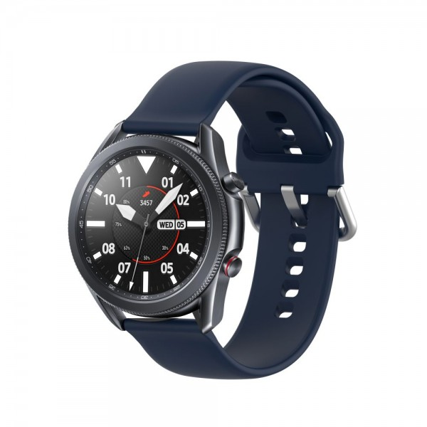 Curea Ceas Upzz Tech Iconband Compatibila Cu Samsung Galaxy Watch 3, 45mm ,navy Blue imagine itelmobile.ro 2021