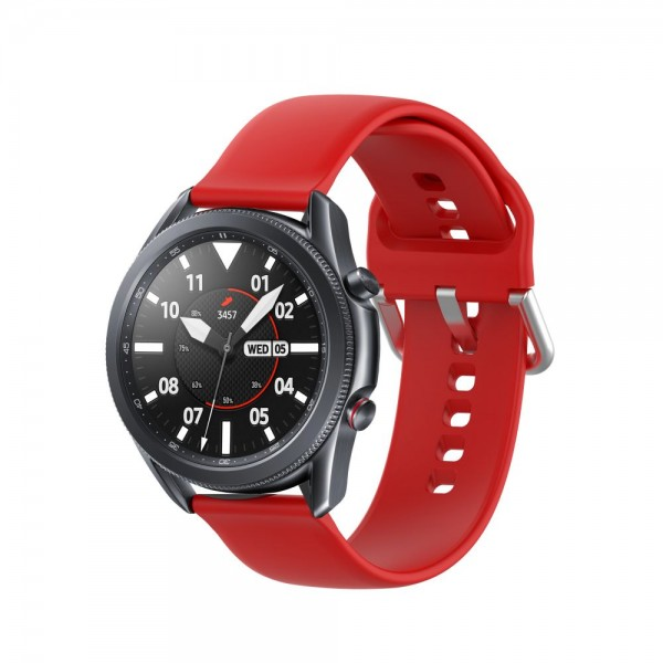 Curea Ceas Upzz Tech Iconband Compatibila Cu Samsung Galaxy Watch 3, 45mm ,red imagine itelmobile.ro 2021