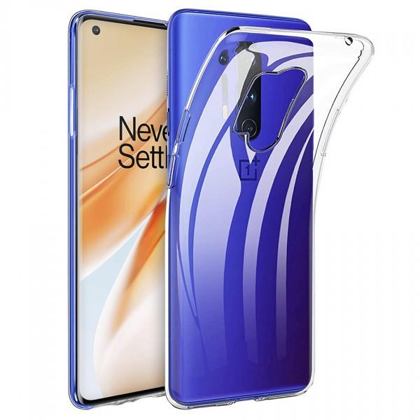 Husa Spate Silicon Ultra Slim Upzz Compatibila Cu Oneplus 8 Pro , Transparenta imagine itelmobile.ro 2021