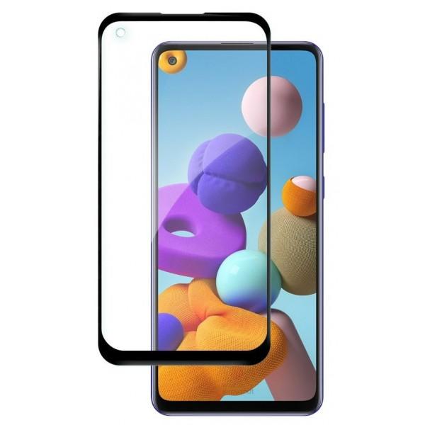 Folie Sticla Nano Glass Full Glue Flex Upzz Samsung Galaxy A21s Negru Ultra Rezistenta imagine itelmobile.ro 2021