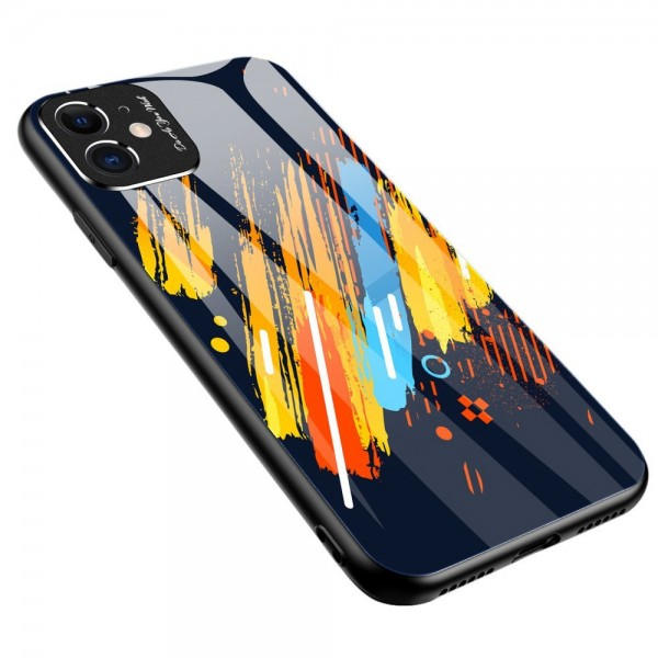 Husa Spate Upzz Gradient Glass Pentru Xiaomi Redmi Note 9 Pro / Redmi Note 9s Pattern 4 imagine itelmobile.ro 2021