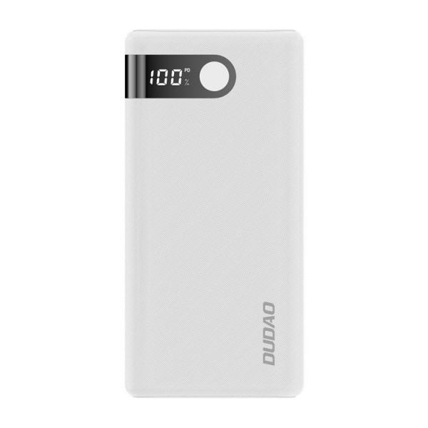 Baterie Externa Dudao 20.000mah 2x Usb / Usb Typ C / Micro Usb 2 A ,display Afisare ,alb -k9pro-05 imagine itelmobile.ro 2021