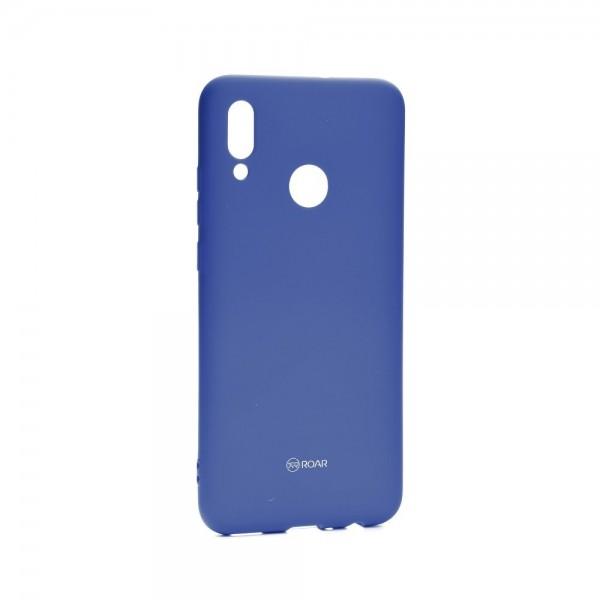 Husa Spate Silicon Roar Jelly Compatibila Cu Huawei P Smart 2019 ,albastru Navy imagine itelmobile.ro 2021