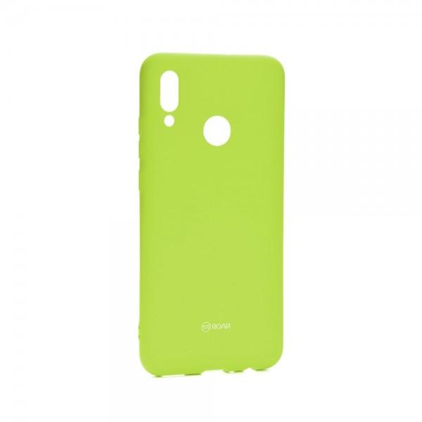 Husa Spate Silicon Roar Jelly Compatibila Cu Huawei P Smart 2019 ,verde Lime imagine itelmobile.ro 2021