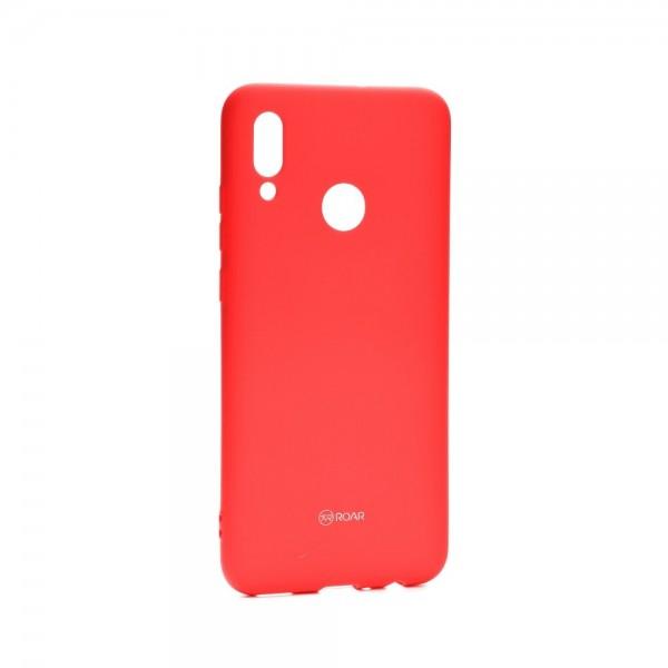 Husa Spate Silicon Roar Jelly Compatibila Cu Huawei P Smart 2019 ,roz imagine itelmobile.ro 2021