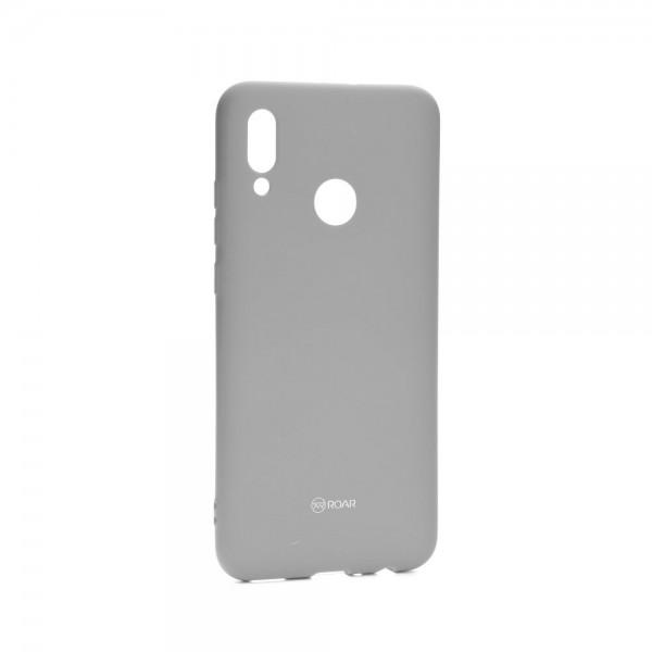 Husa Spate Silicon Roar Jelly Compatibila Cu Huawei P Smart 2019 ,gri imagine itelmobile.ro 2021