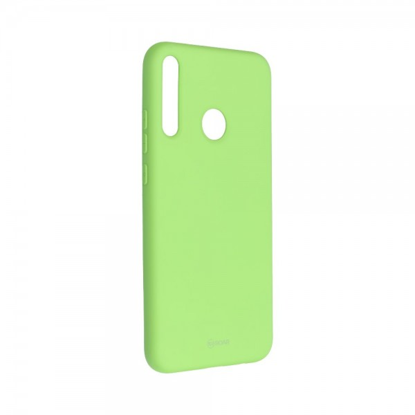 Husa Spate Silicon Roar Jelly Compatibila Cu Huawei P40 Lite E , Verde Lime imagine itelmobile.ro 2021