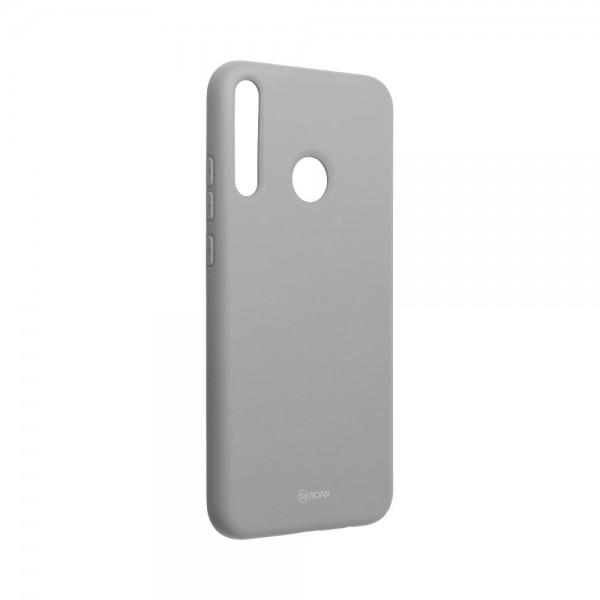 Husa Spate Silicon Roar Jelly Compatibila Cu Huawei P40 Lite E , Gri imagine itelmobile.ro 2021