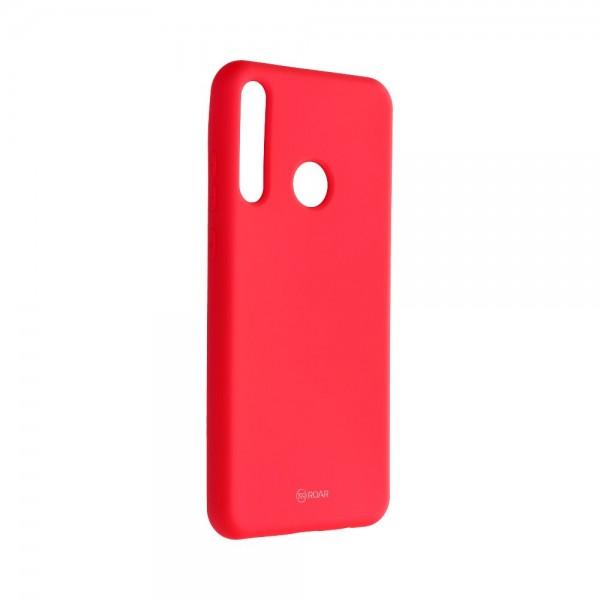 Husa Spate Silicon Roar Jelly Compatibila Cu Huawei Y6p ,hot Roz imagine itelmobile.ro 2021