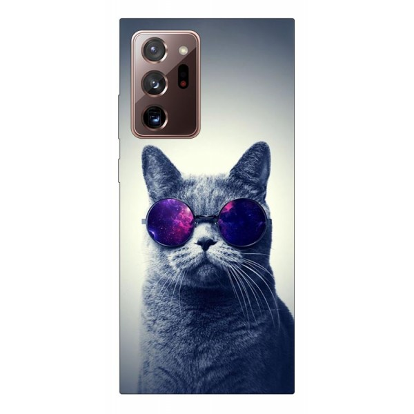 Husa Silicon Soft Upzz Print Samsung Galaxy Note 20 Ultra Model Cool Cat imagine itelmobile.ro 2021