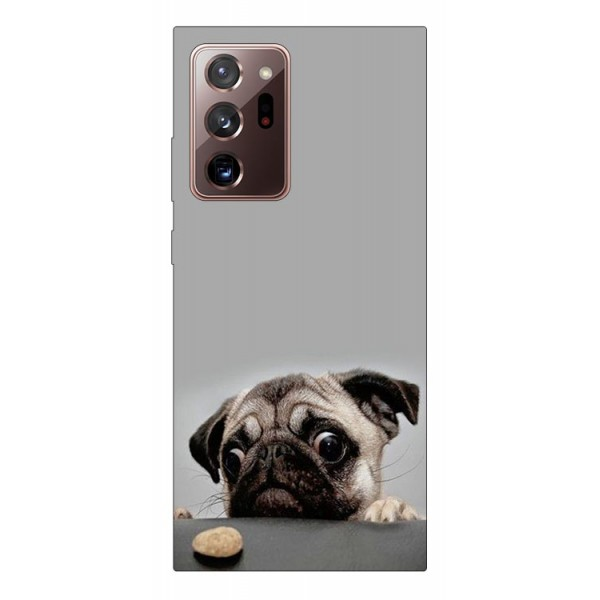 Husa Silicon Soft Upzz Print Samsung Galaxy Note 20 Ultra Model Dog imagine itelmobile.ro 2021
